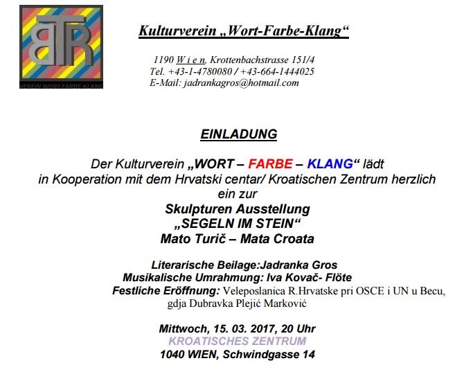 Izložba u Beču 15.03.2017.